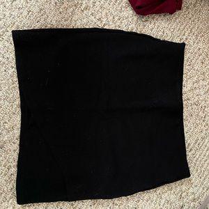 Aritzia tight black shirt skirt